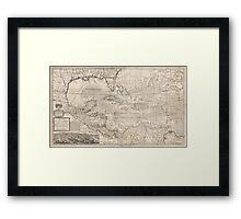 West Indies 1720 Framed Print