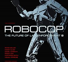 Robocop - Movie Poster by 547Design