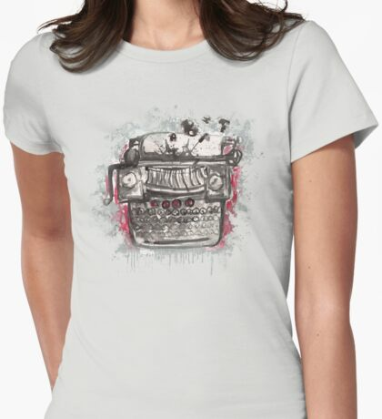 Non-Naked Lunch Womens Fitted T-Shirt