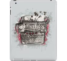 Non-Naked Lunch iPad Case/Skin