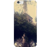 Beneath the Eiffel Tower iPhone Case/Skin