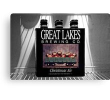 It's Christmas Ale!  Canvas Print