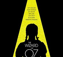 The Wizard of Oz - Movie Poster by 547Design