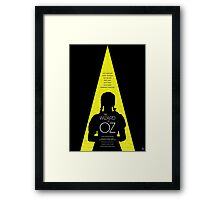 The Wizard of Oz - Movie Poster Framed Print