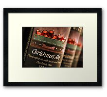 Tis' the Season! (for a Christmas Ale) Framed Print