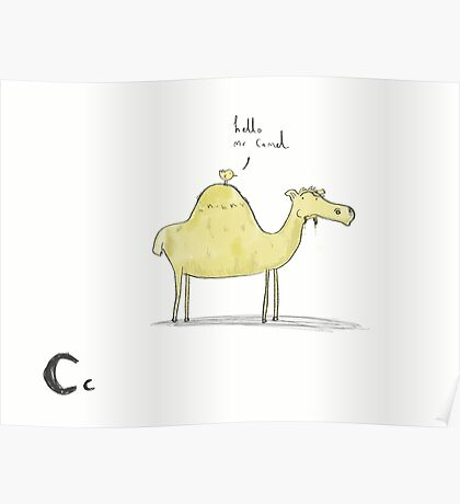 """Hello Mr Camel"" Poster"