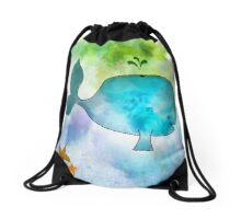 Ginkelmier Land ~ Whale Drawstring Bag
