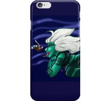 Malachite and the Angler Fish iPhone Case/Skin