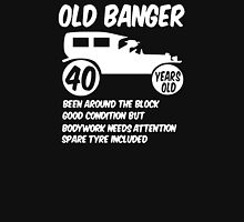 40th Forty Mens Age 40 Birthday Funny Unisex T-Shirt