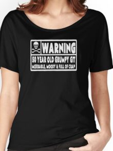 50 Year Old Git Funny 50th Birthday Women's Relaxed Fit T-Shirt