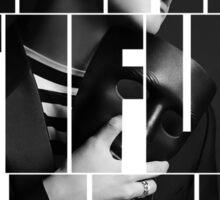 VIXX LR Ravi 'Beautiful Liar' Typography Sticker