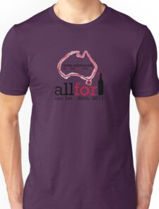 All For One Wine - January 2011 Unisex T-Shirt