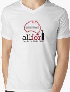 All For One Wine - January 2011 Mens V-Neck T-Shirt