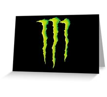 Monster Energie Greeting Card