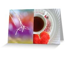 Diptych challenge Greeting Card