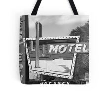 Route 66 - Western Motel Tote Bag