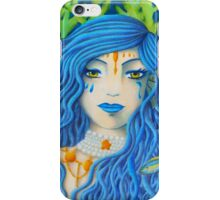 Mother of the Sea [Colored Pencil Artwork] iPhone Case/Skin