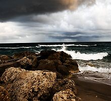 Stormy Beach by Nugent Visuality