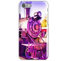 Saturated Steam Train iPhone Case/Skin