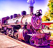 Saturated Steam Train by JoeGeraci