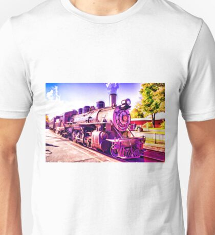 Saturated Steam Train Unisex T-Shirt
