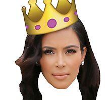 Kim Kardashian is King by megsiev