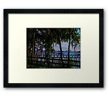St Johns River Framed Print