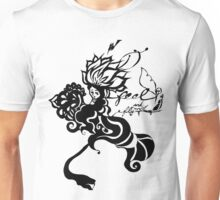 Feel and Fly away ink work style graphic Unisex T-Shirt