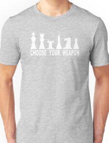 Choose Weapon Chess T-Shirt