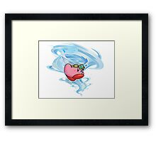 kirby wind power Framed Print