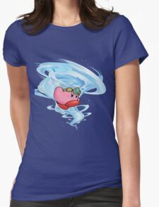 kirby wind power Womens Fitted T-Shirt