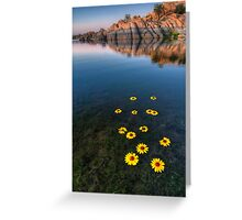 Sunflower Stretch Portrait Greeting Card
