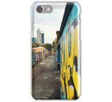 Perth laneways iPhone Case/Skin