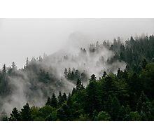 Alpine Mist Photographic Print