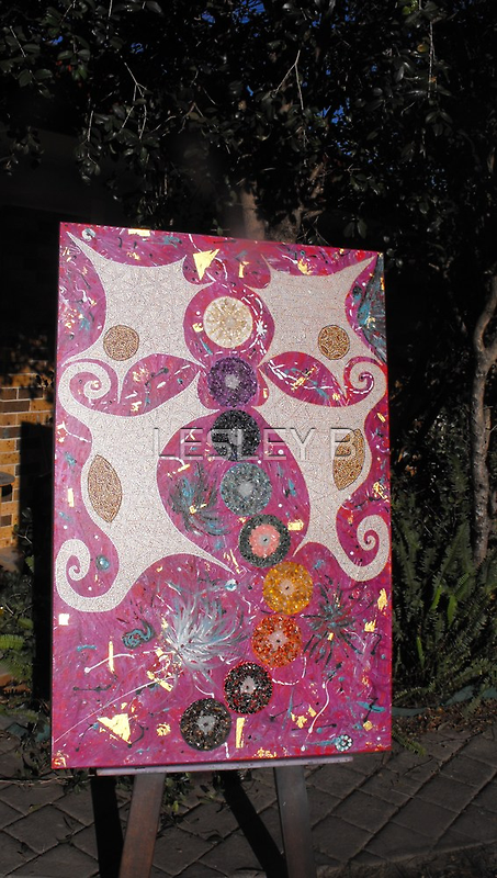 Finnished Dragonfly Two Worlds Collide (Series 1) by LESLEY B