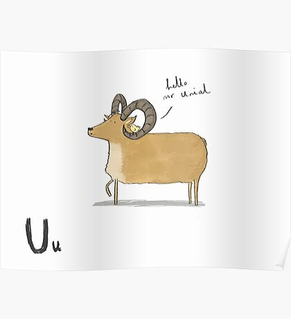 """""""Hello Mr Urial"""" Poster"""