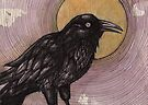 Tulugaq (Winter Raven) by Lynnette Shelley