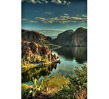 Glass Lake  Photographic Print