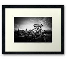 Széchenyi Chain Bridge, Budapest Framed Print