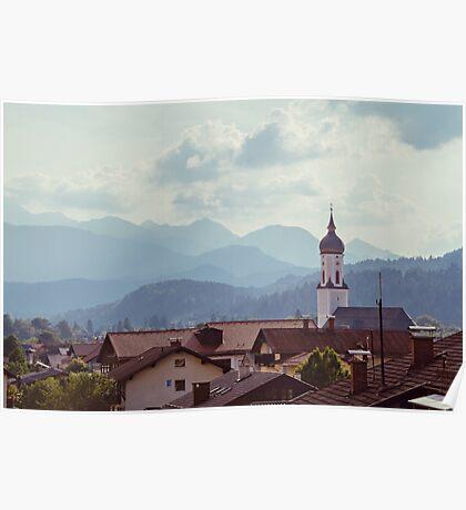 Garmisch Landscape Poster