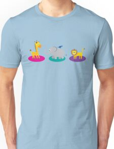 Fun Jungle Animals Unisex T-Shirt