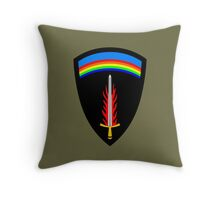 Supreme Headquarters Allied Expeditionary Force (Historical) Throw Pillow
