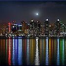 San Diego Skyline by deepbluwater
