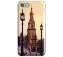 Plaza de Espana - Seville iPhone Case/Skin