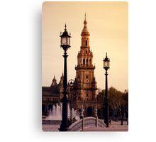 Plaza de Espana - Seville Canvas Print