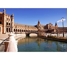Plaza de Espana - Seville  Photographic Print