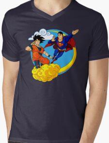 Heroes Mens V-Neck T-Shirt