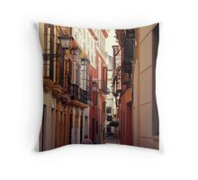 Streets of Seville - Spain  Throw Pillow
