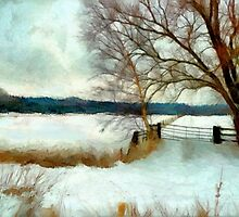 The gate'... by Valerie Anne Kelly