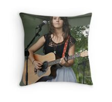 Sauteed on the Esplanade in Cairns Throw Pillow